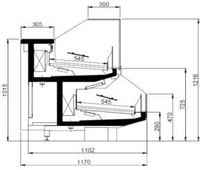Kühltheke Tecto DC2